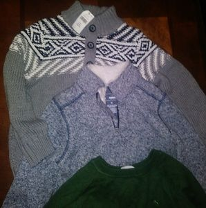 Boys sweater bundle size 4